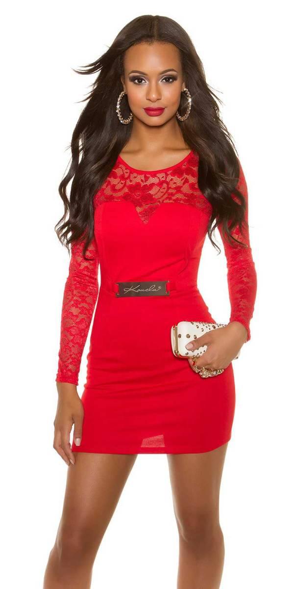 Alkalmi ruha gs37598 - piros