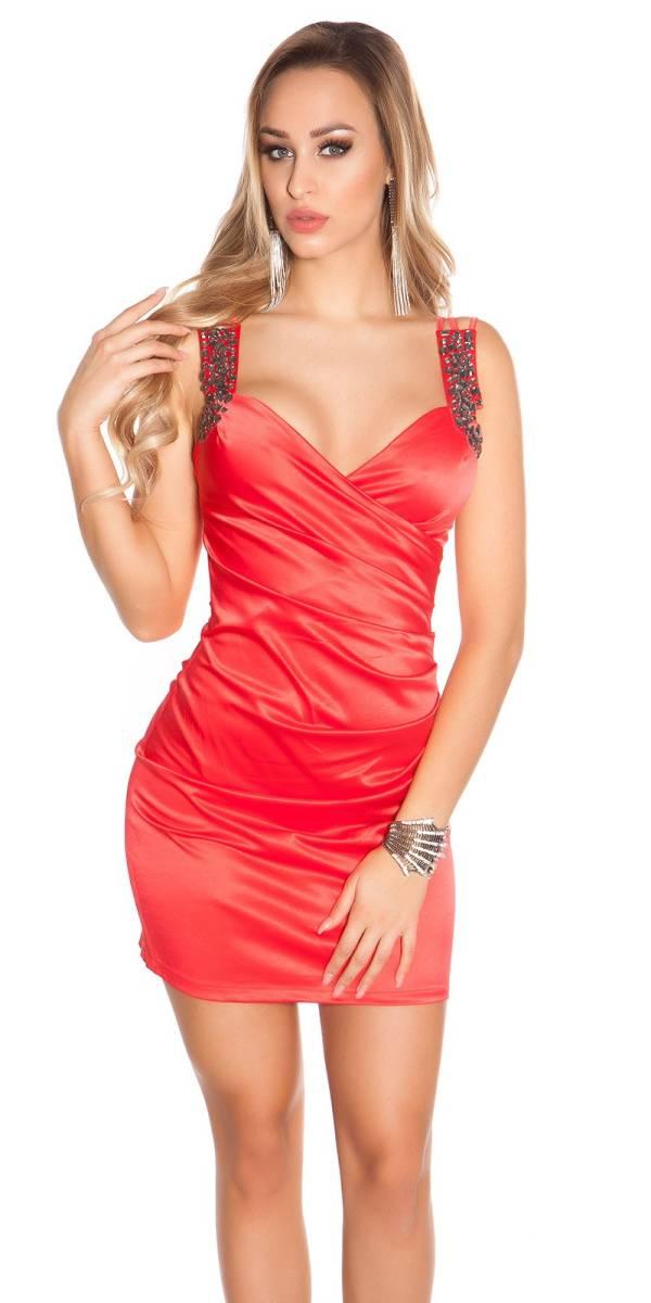 Alkalmi ruha gs38688 - piros