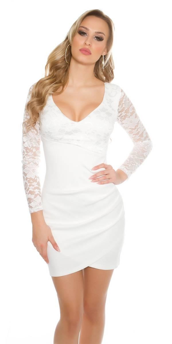 Alkalmi ruha gs40719 - fehér