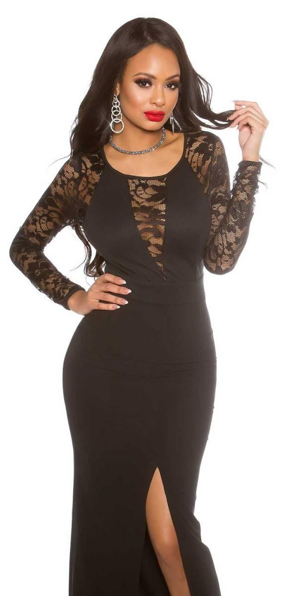 Alkalmi ruha gs41684 - fekete
