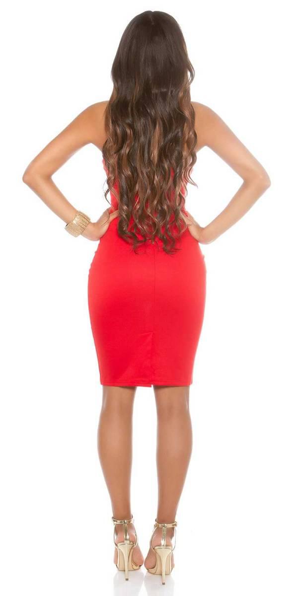 Alkalmi ruha gs46645 - piros