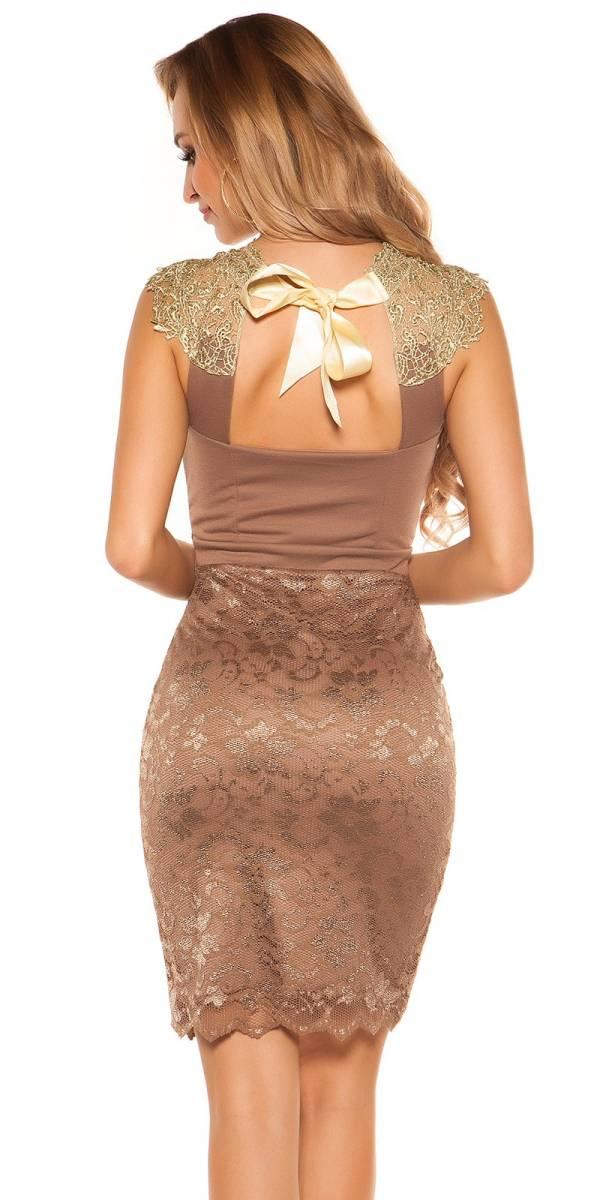 Alkalmi ruha gs48725 - cappuccino