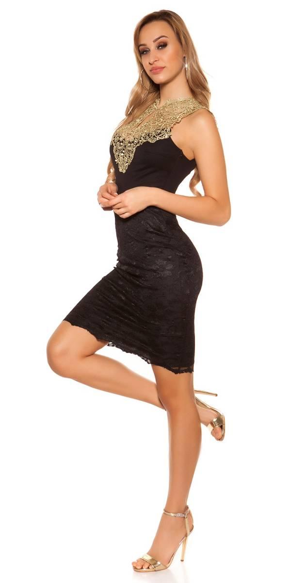 Alkalmi ruha gs48725 - fekete