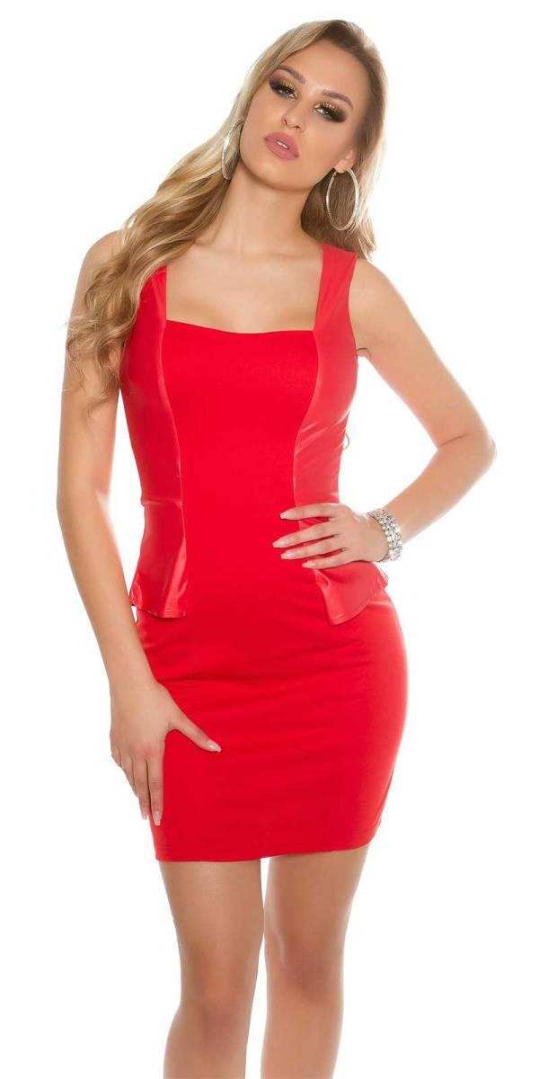 Alkalmi ruha gs48809 - piros