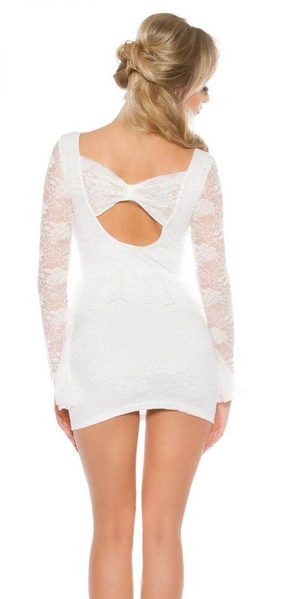 Alkalmi ruha gs53476 - fehér