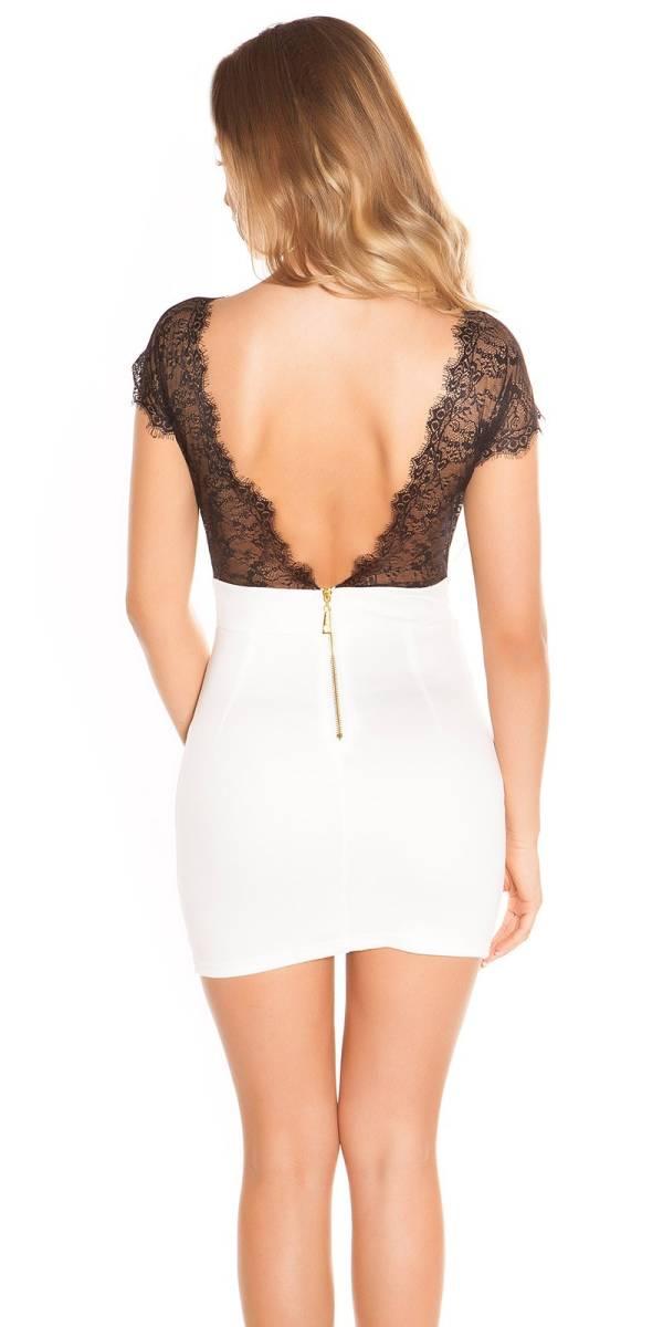 Alkalmi ruha gs57646 - fehér