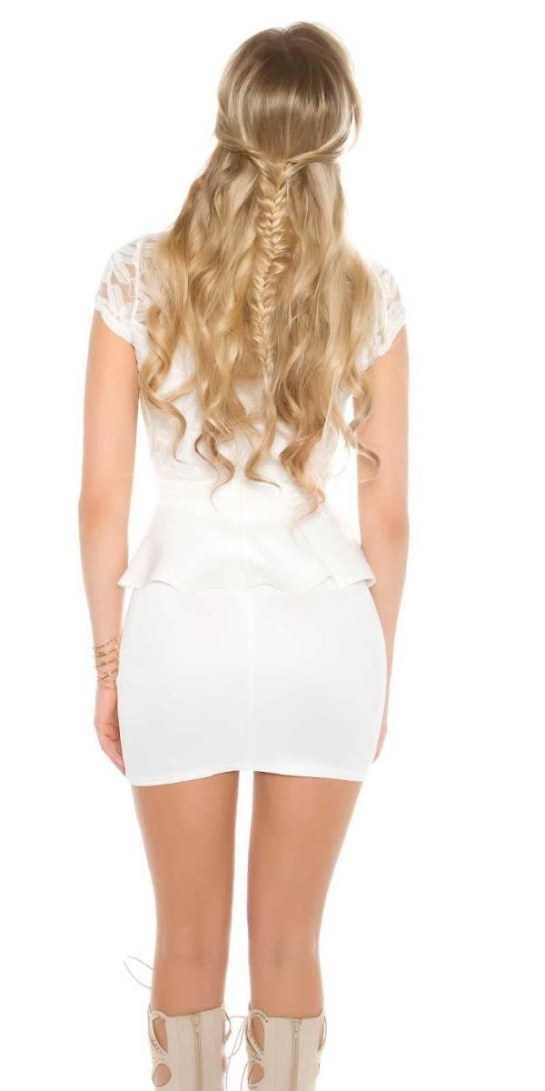 Alkalmi ruha gs59430 - fehér