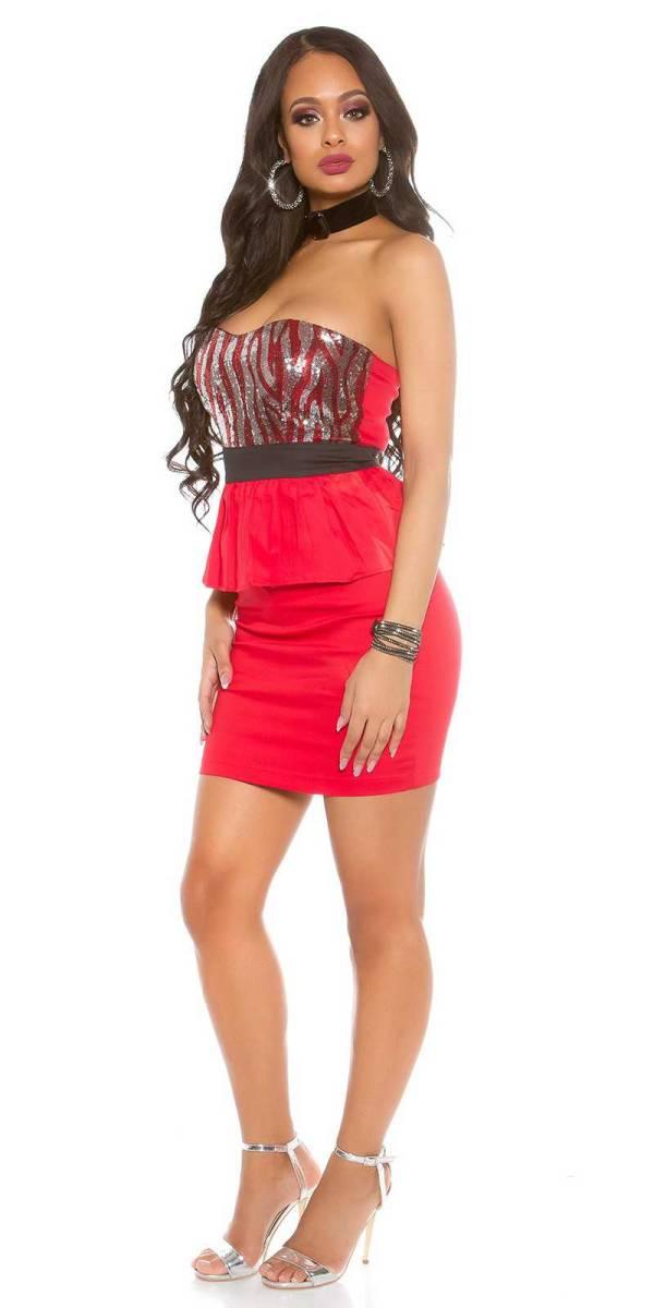 Alkalmi ruha gs60888 - piros
