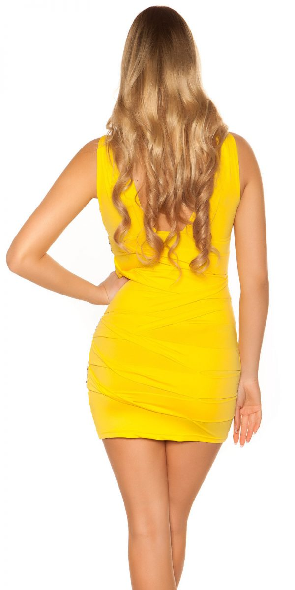 Alkalmi ruha gs65614 - sárga