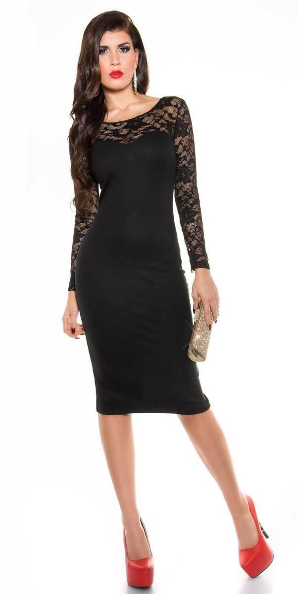 Alkalmi ruha gs70186 - fekete