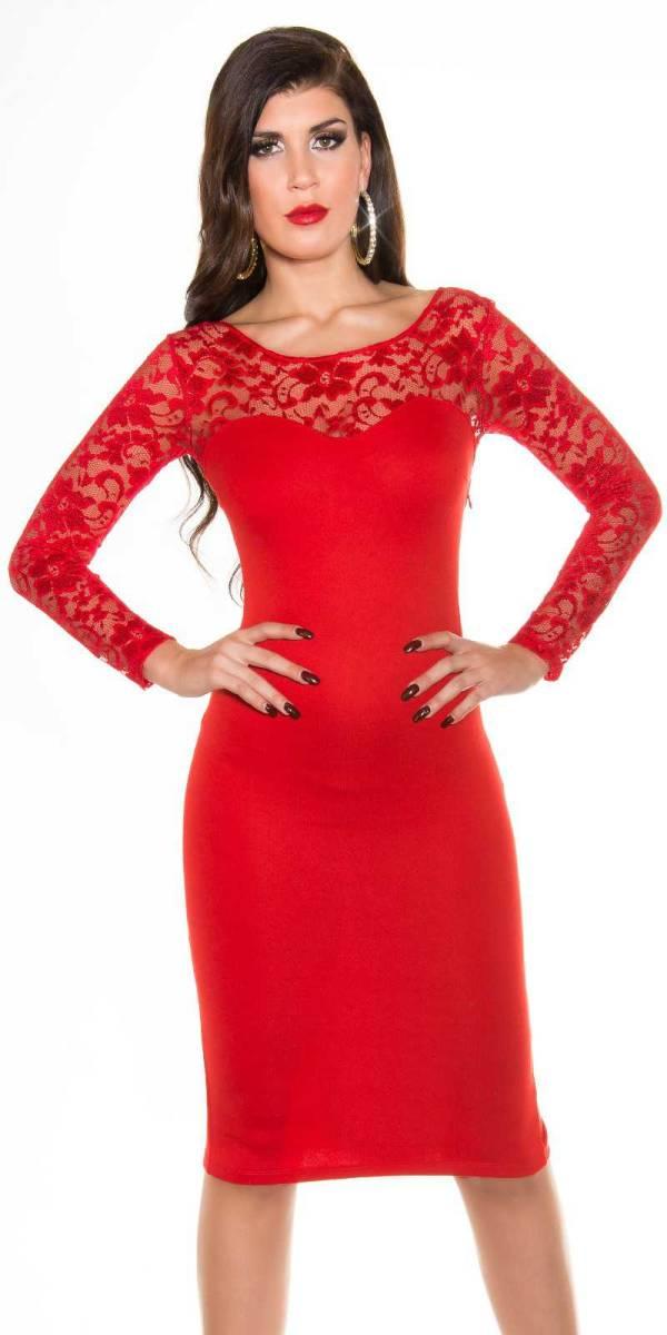 Alkalmi ruha gs70186 - piros