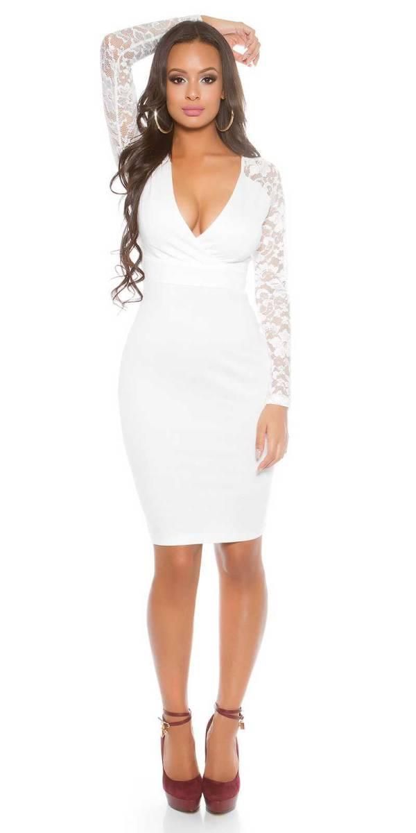 Alkalmi ruha gs71907 - fehér