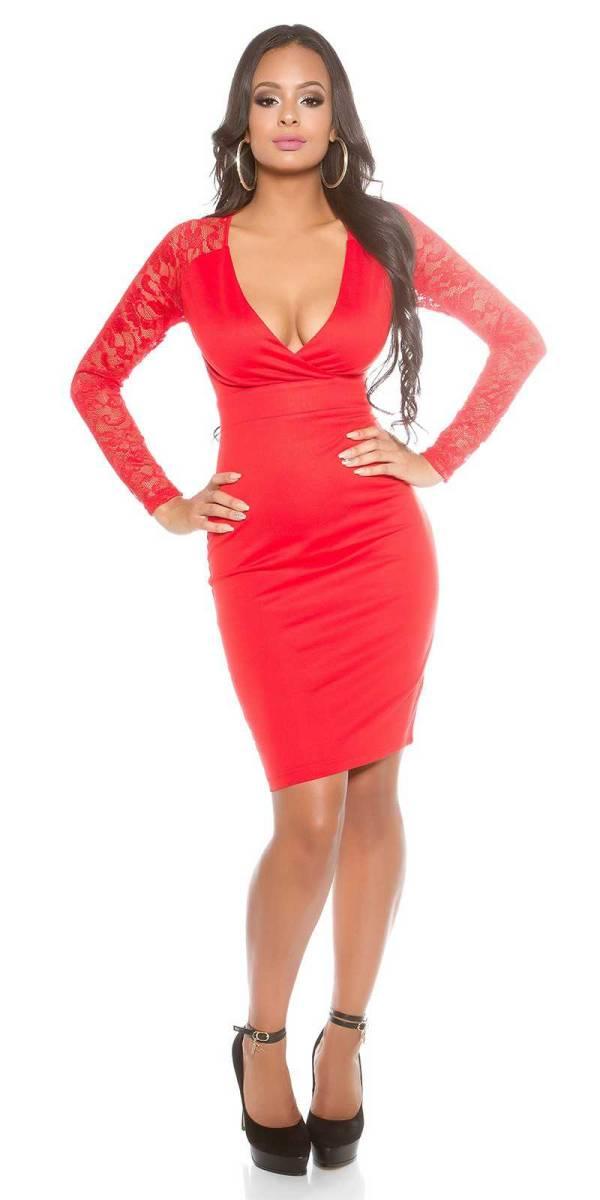 Alkalmi ruha gs71907 - piros
