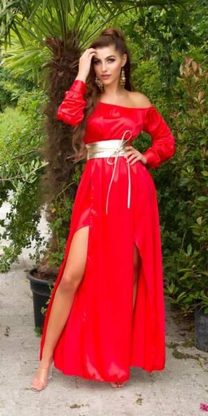 Alkalmi ruha gs76378 - piros