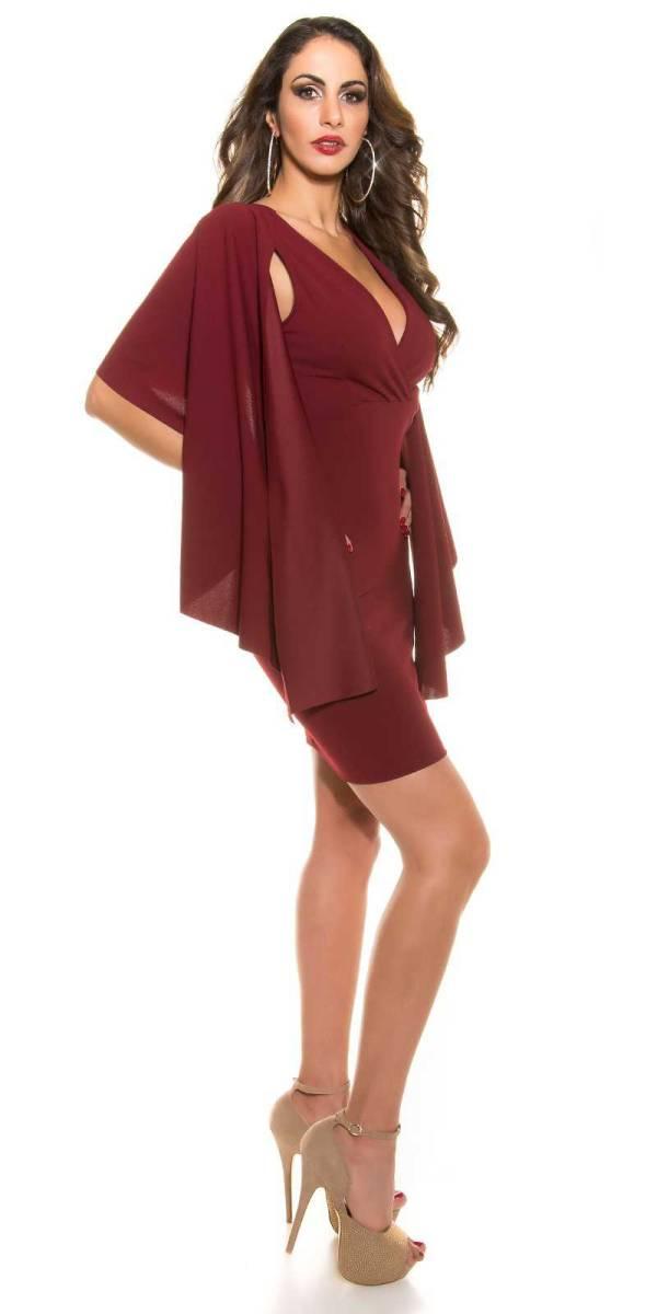 Alkalmi ruha gs78146 - bordó