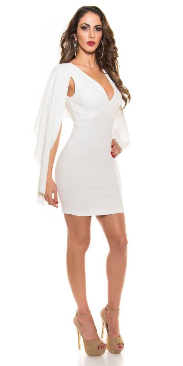 Alkalmi ruha gs78146 - fehér