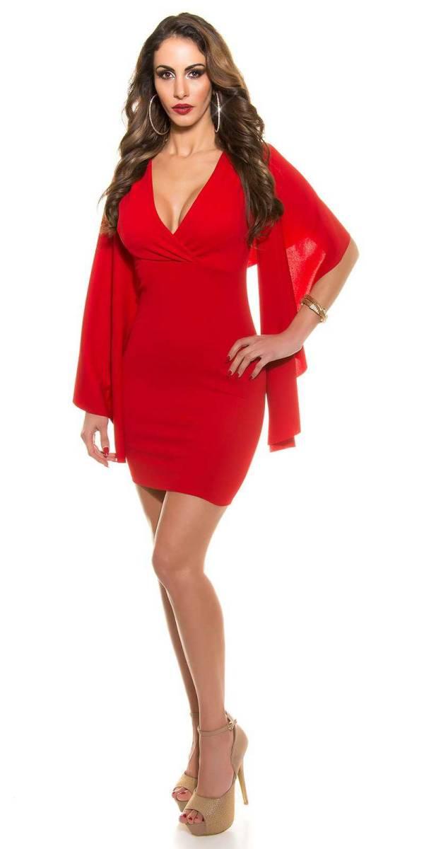 Alkalmi ruha gs78146 - piros