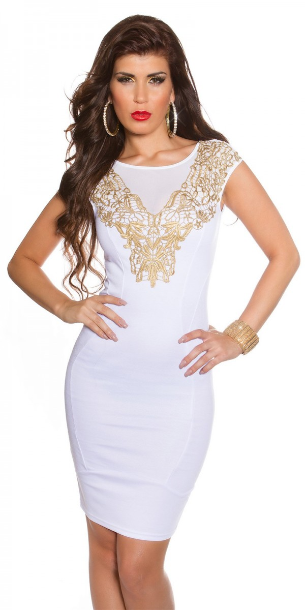 Alkalmi ruha gs82449 - fehér