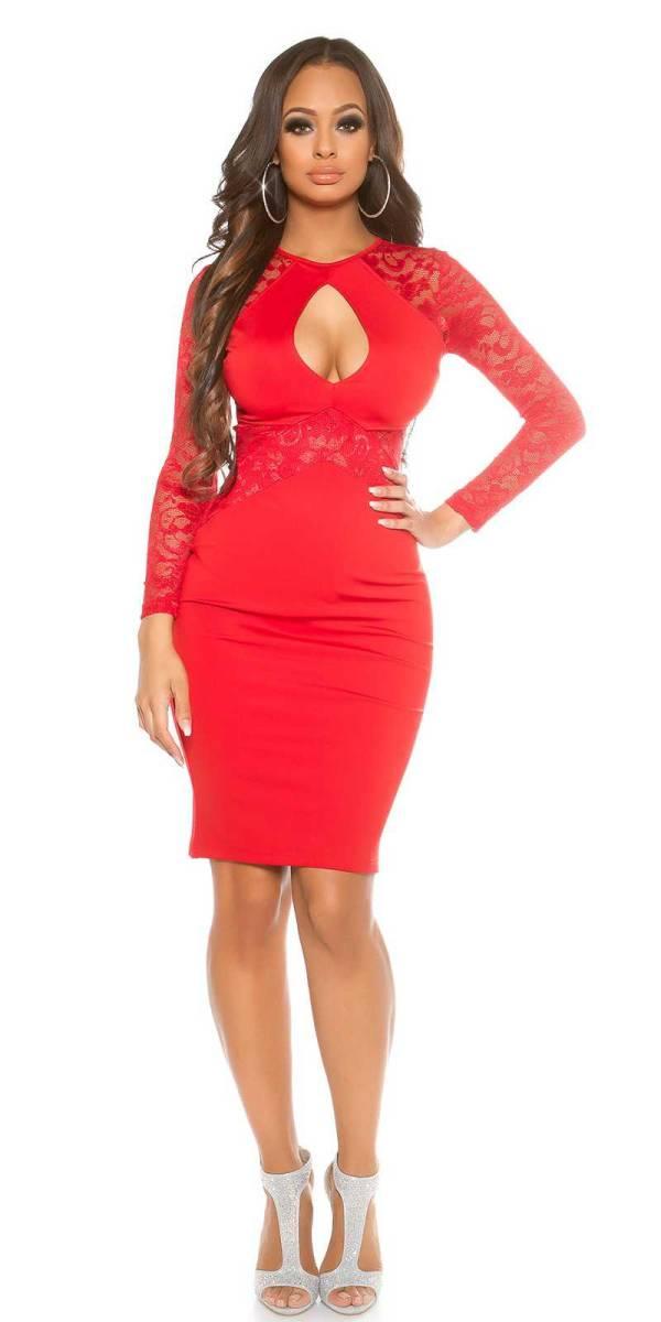 Alkalmi ruha gs84245 - piros