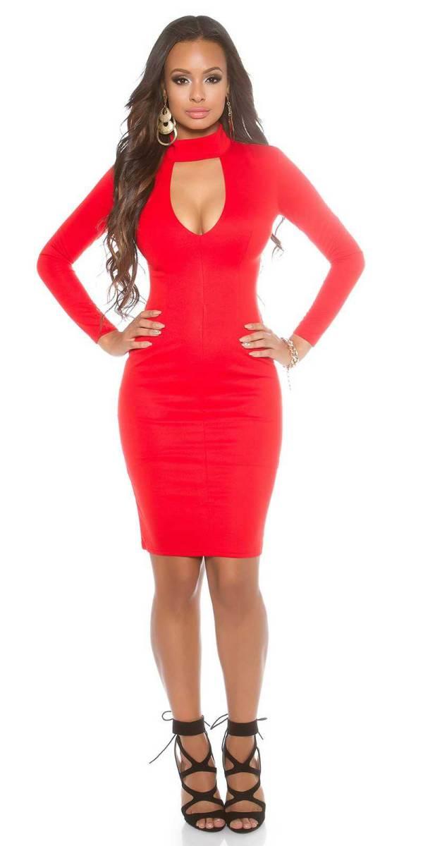 Alkalmi ruha gs85502 - piros