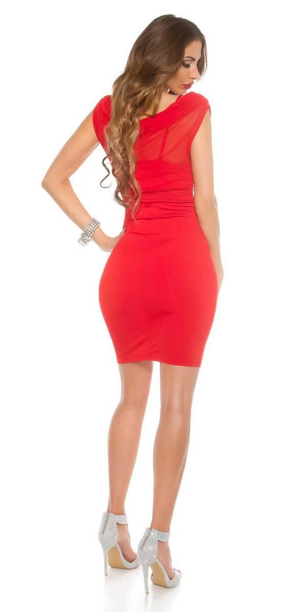 Alkalmi ruha gs87365 - piros