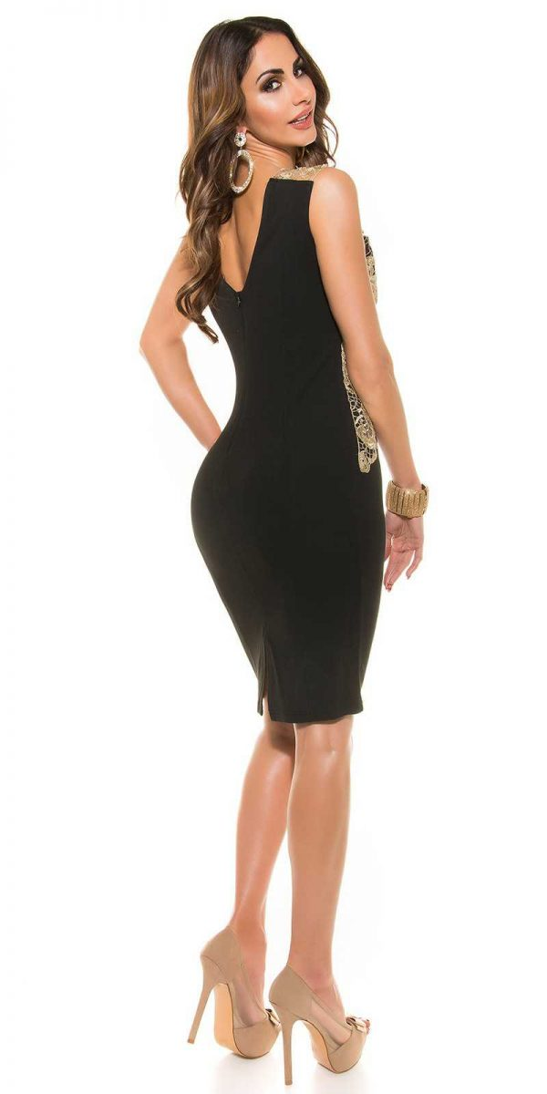 Alkalmi ruha gs90636 - fekete