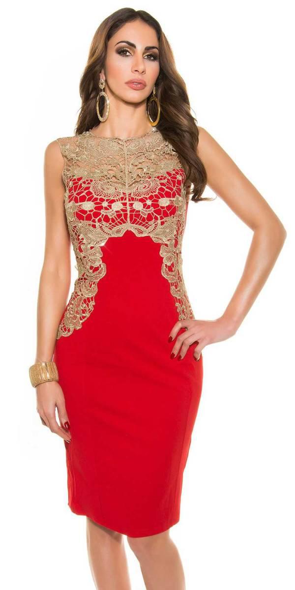 Alkalmi ruha gs90636 - piros