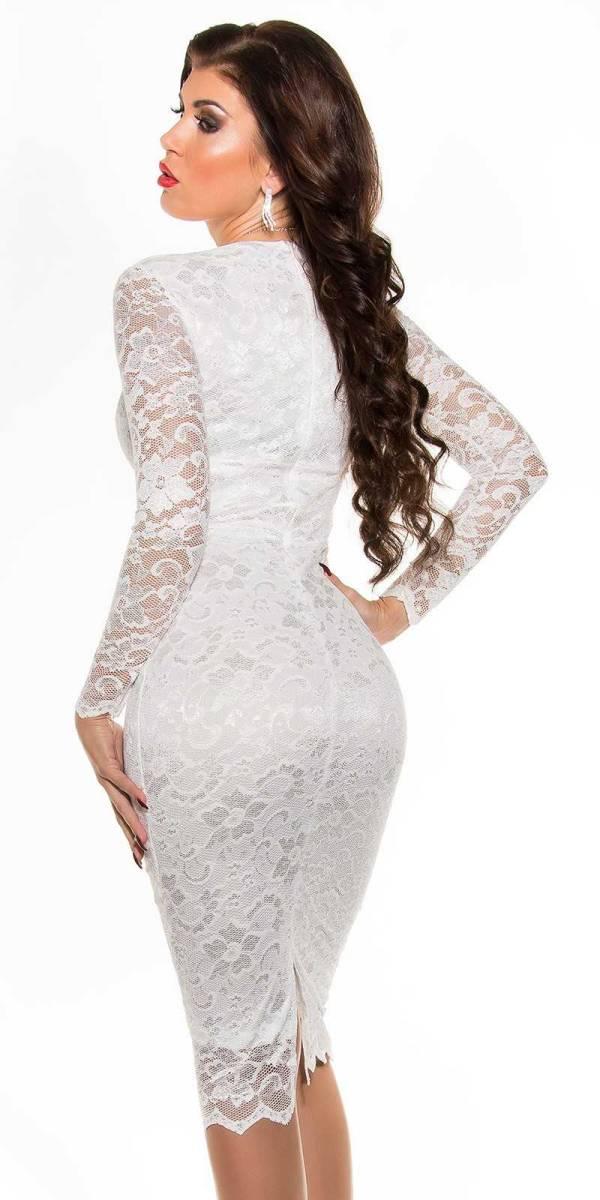 Alkalmi ruha gs93664 - fehér