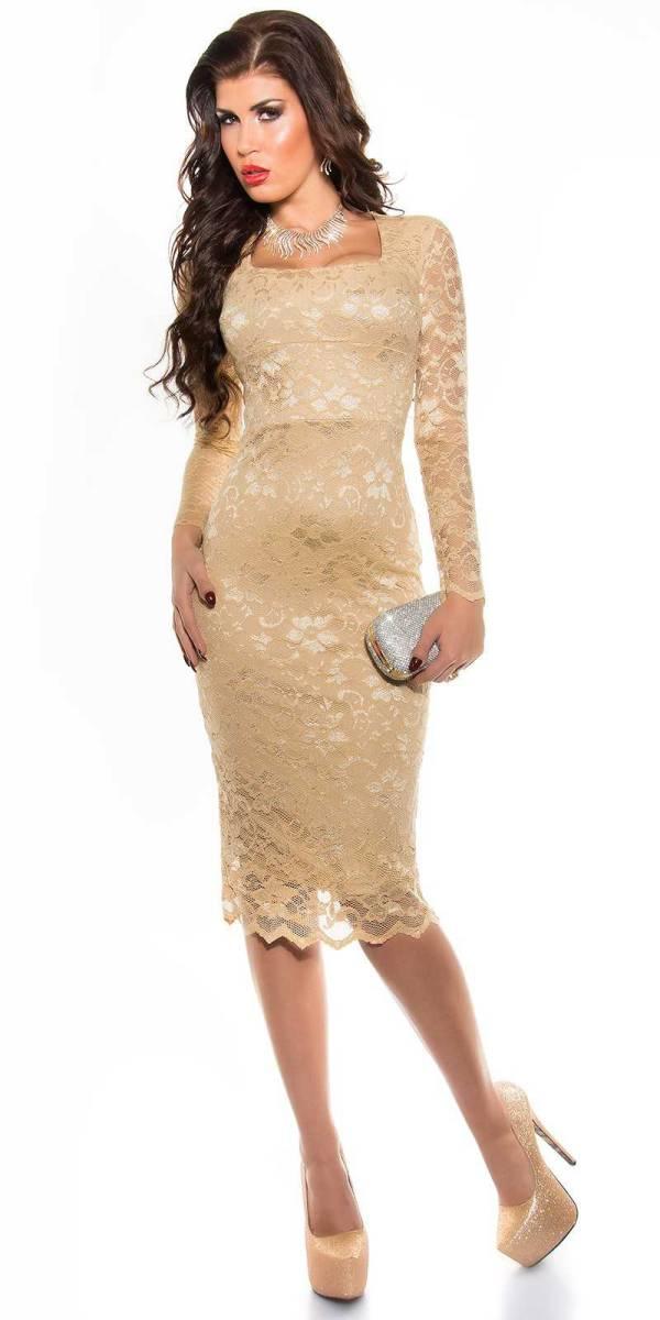 Alkalmi ruha gs93664 - pezsgő