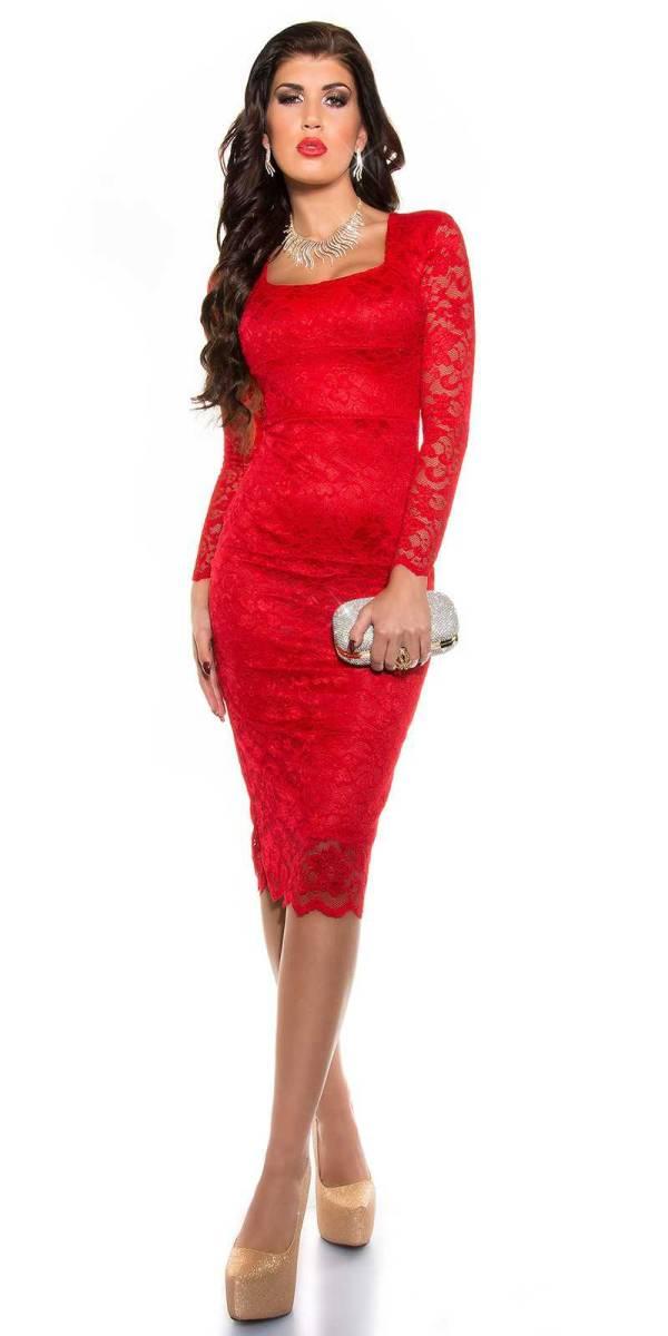 Alkalmi ruha gs93664 - piros