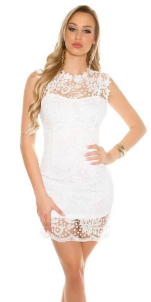 Alkalmi ruha gs94195 - fehér