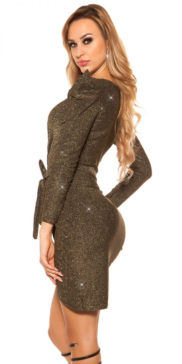 Alkalmi ruha gs96962 - arany
