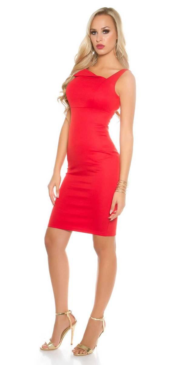Alkalmi ruha gs97382 - piros