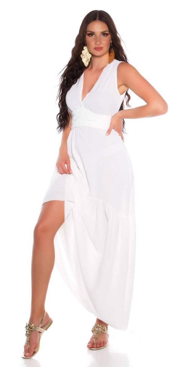 Estélyi ruha gs13229 - fehér