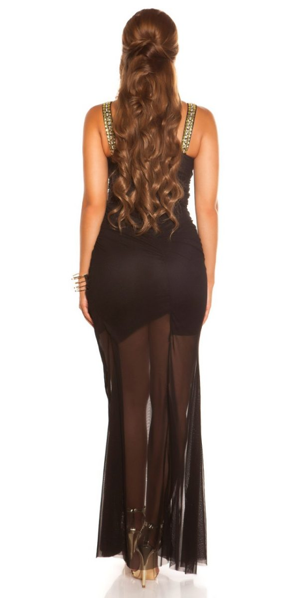 Estélyi ruha gs15762 - fekete