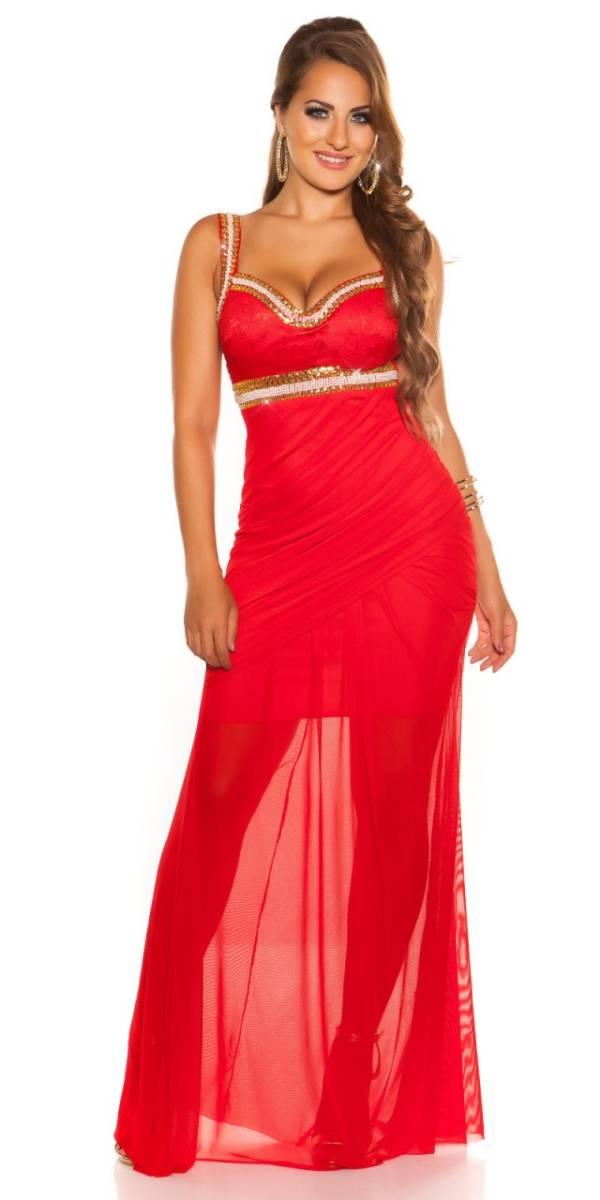 Estélyi ruha gs15762 - piros