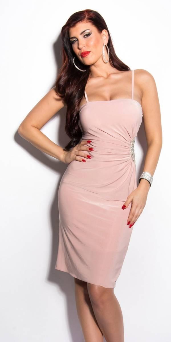 Estélyi ruha gs23517 - rózsaszín