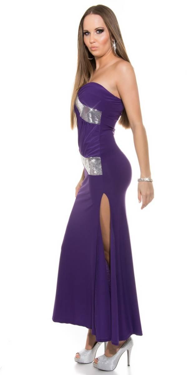 Estélyi ruha gs23630 - lila