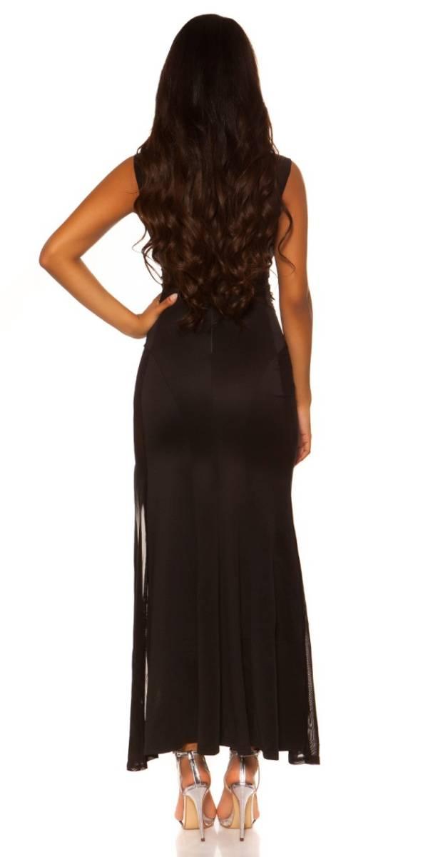Estélyi ruha gs43937 - fekete