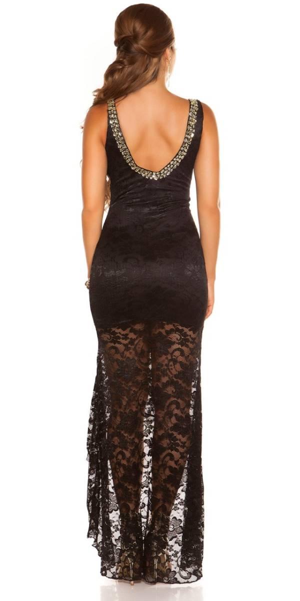 Estélyi ruha gs49487 - fekete