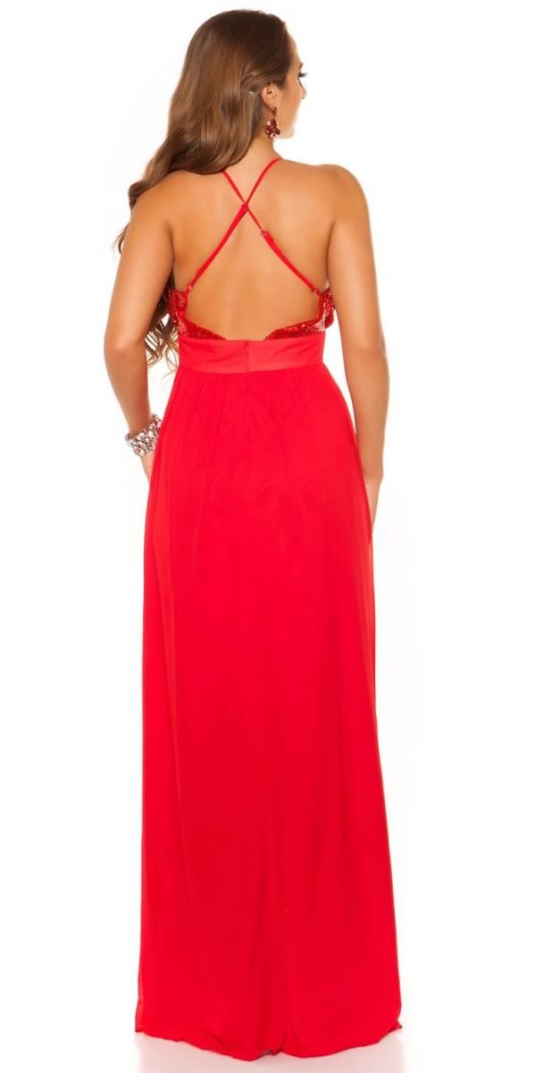 Estélyi ruha gs78957 - piros