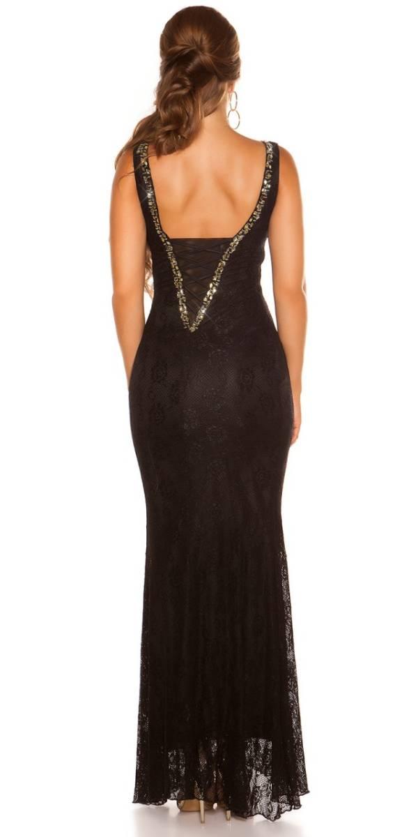 Estélyi ruha gs80376 - fekete