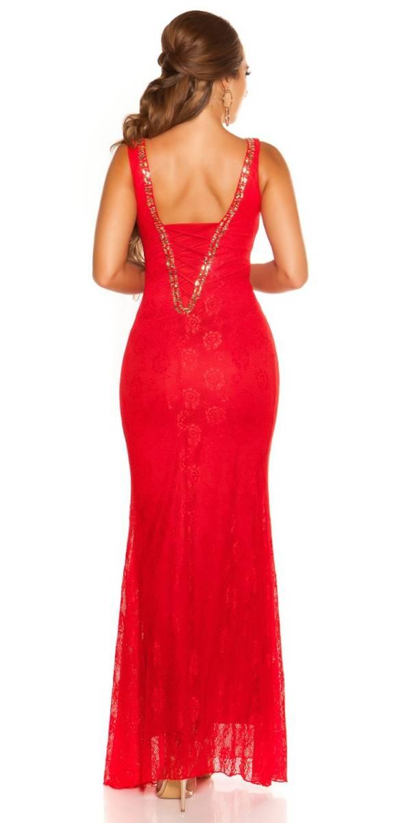 Estélyi ruha gs80376 - piros