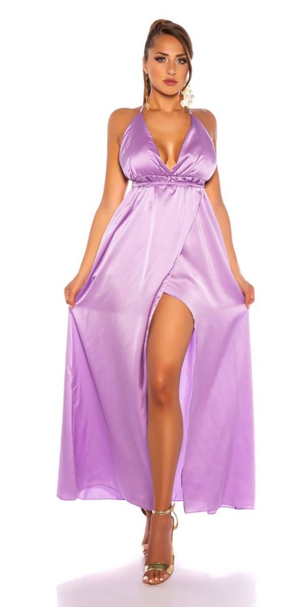 Estélyi ruha gs81028 - lila