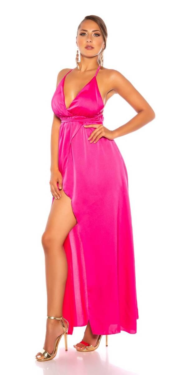 Estélyi ruha gs81028 - pink