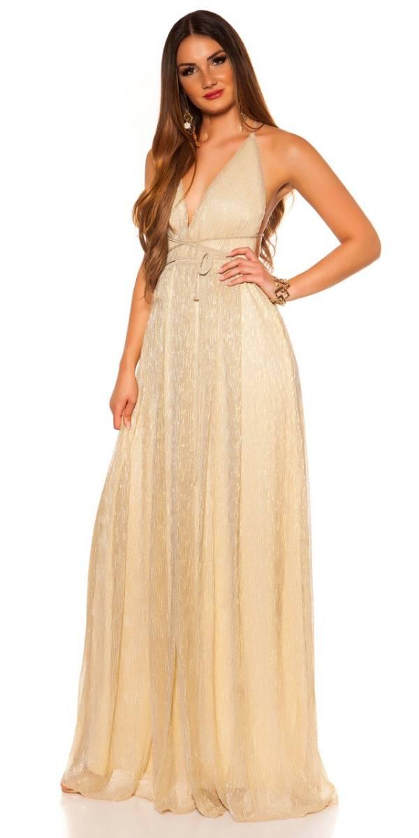Estélyi ruha gs86534 - arany