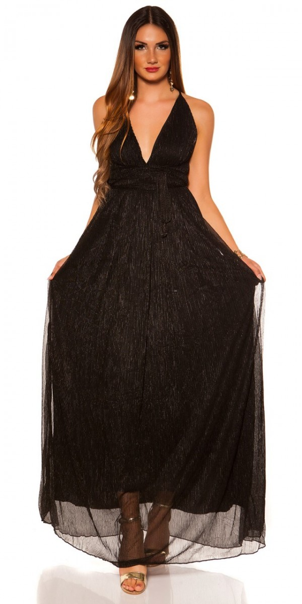 Estélyi ruha gs86534 - fekete