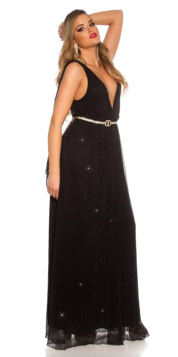 Estélyi ruha gs92707 - fekete