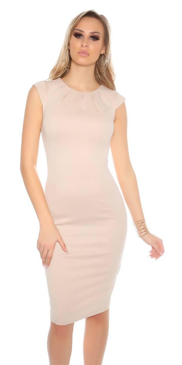 Estélyi ruha gs98243 - bézs