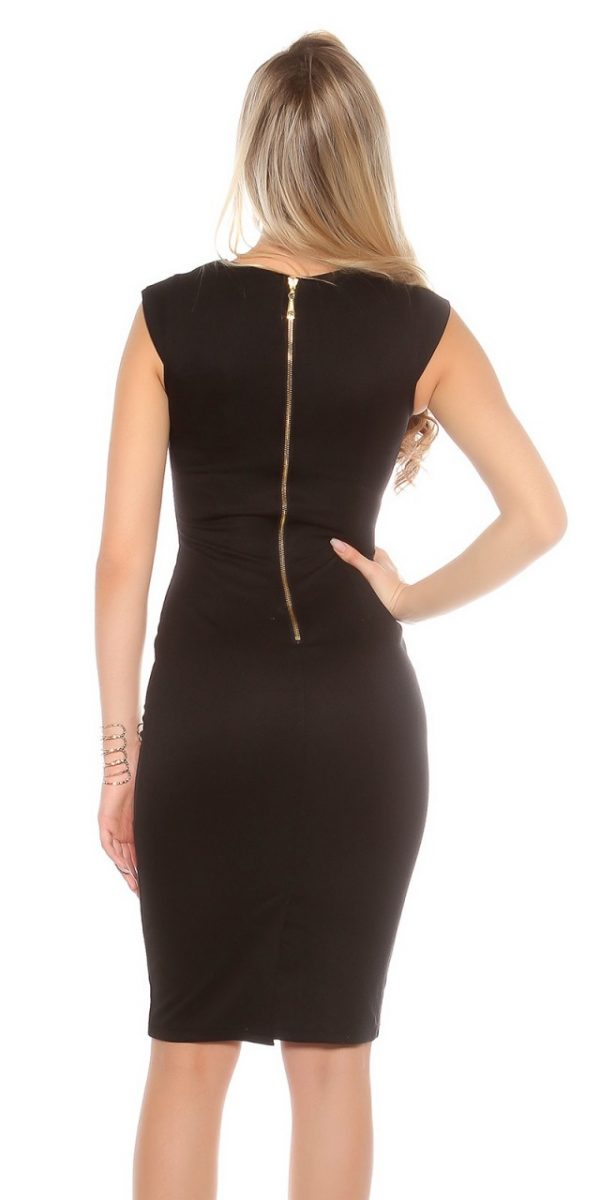 Estélyi ruha gs98243 - fekete